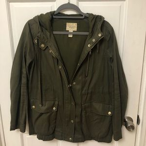 Army Green Utility Style Jacket
